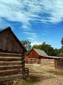 Historic Wooden Barns