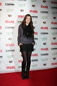 LOS ANGELES - NOV 22:  Hailee Steinfeld at the 2011 Hollywood Christmas Parade Concert at Universal