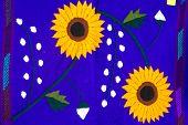 Colorful Chiapanecan Textile