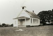Vintage 1921 Photo Of A Schoolhouse