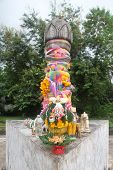 image of phallus  - Phalluse on the top of Doitong hill in Chiang Rai Thailand - JPG