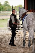 image of sweet sixteen  - Horse riding - JPG