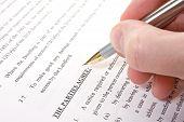 Kundenvereinbarung lesen und unterzeichnen