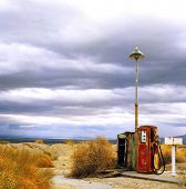 Benzinestation op Route 66