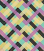 Fundo colorido em zigue-zague