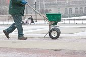 Salting The Sidewalk