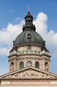 St. Stephen's Basilica Dome In Budapest