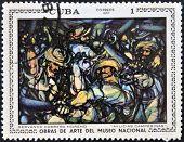 CUBA - CIRCA 1970: A stamp printed in cuba