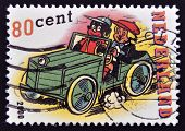 HOLLAND - CIRCA 2000: A stamp printed in Netherlands shows Sjors & Sjimmie circa 2000