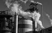 Steam smoke stacks