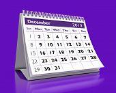 Calendário de dezembro de 2013
