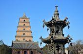 Wild Goose Pagoda in Xi'an