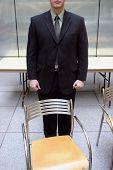 Businessman Empty Chair