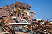 Hurricane Sandy desrtruction