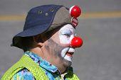 Clown Parading Around