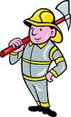 Fireman Firefighter Emergency Worker