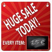 Sale Board With Wipeable Blackboard For Price