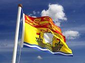 Nova Brunswick bandeira Canadá
