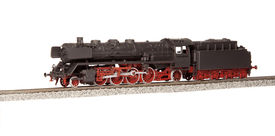foto of loco  - steam loco model isolated over white background - JPG