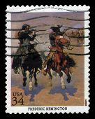 Picture By Frederic Remington