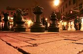 Chess at night