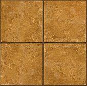 Ceramic Brown Stone Tiles Seamlessly Tileable