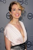 LOS ANGELES - JUL-24: Sarah Carter kommt bei TNT 25th Anniversary Party im Beverly Hilton Ho