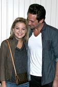 LOS ANGELES - JUL 25:  Kirsten Storms, Brandon Barash arrives at the General Hospital Fan Club Kickoff Party at the Sportsman's Lodge on July 25, 2013 in Studio City, CA