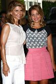 LOS ANGELES - JUL 24:  Lori Loughlin, Candace Cameron Bure arrives at  the Hallmark Channel Summer T