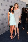 LOS ANGELES - JUL 24:  Jordana Brewster, Brenda Strong arrives at TNT's 25th Anniversary Party at th