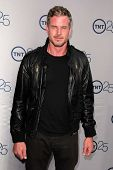 LOS ANGELES - JUL 24:  Eric Dane arrives at TNT's 25th Anniversary Party at the Beverly Hilton Hotel