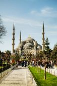 Sultan Ahmed Mosque (Blaue Moschee) In Istanbul