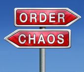 order or chaos in your life or political chaotic theory find or lost the overview