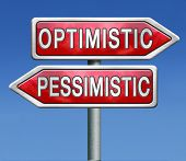 optimistic or pessimistic optimism and positivity or pessimism and negativity a pessimist reacts pos