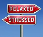 stock photo of stress  - stress therapy and management helps in relaxation reduce tension and relief negativity become relaxed not stressed reduction of negative vibes distressing trough meditation and concentration - JPG