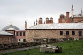 foto of eunuch  - Building of Harem palace in Topkapi Istanbul - JPG