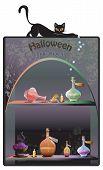 Halloween Boutique Background