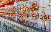 Golden Prayer Bells Of The  Wenwu Temple