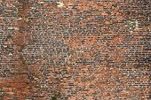 Old Rugged Brick Wall