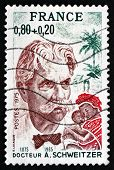 Postage Stamp France 1975 Dr. Albert Schweitzer
