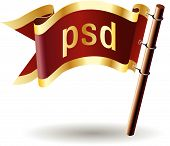 Royal-flag-document-file-type-psd
