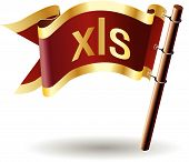 Royal-flag-document-file-type-xls