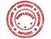 Duplicata-carimbo