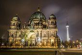 Landmarks of Berlin poster