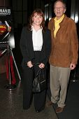 LOS ANGELES - NOVEMBER 2: Margot Kidder and Tom Mankiewicz at the Screening of
