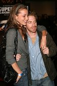 LOS ANGELES - NOVEMBER 2: Seth Green and Candice Bailey at the Screening of