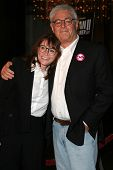 LOS ANGELES - NOVEMBER 2: Margot Kidder and Richard Donner at the Screening of