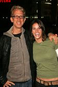 LOS ANGELES - NOVEMBER 09: Andy Dick and Missy Peregrym at the Los Angeles Premiere of