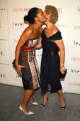 OS ANGELES - NOVEMBER 13: Tracee Ellis Ross and Carolina Herrera at the opening of the Carolina Herr
