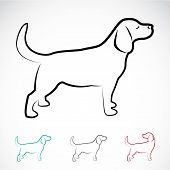 Vector Image Of A Dog Labrador